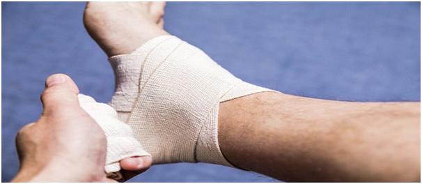 Ankle sprain surgery