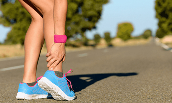 Causes of ankle sprain