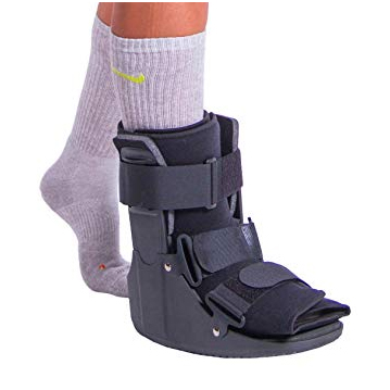 Compression treatment for stress fracture