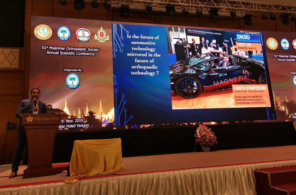 Plenary lecture at the 51st Myanmar Orthopaedic Association Meeting