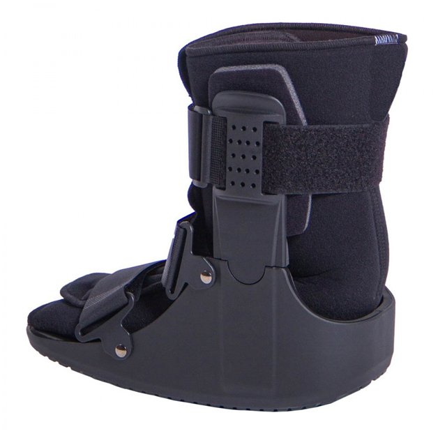 Protective footwear for stress fractures